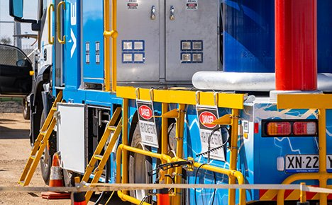 high voltage testing unit mobile truck verico